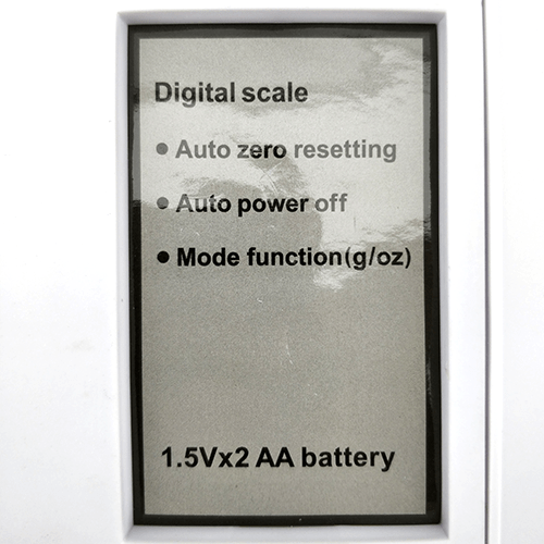 Digital Kitchen Scales up to 10kg (+-3g)