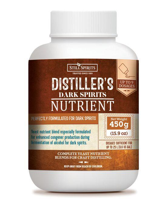Still Spirits Distiller's Nutrient Dark Spirits 450g