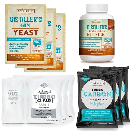 Gin Distiller's Yeast Pack x3