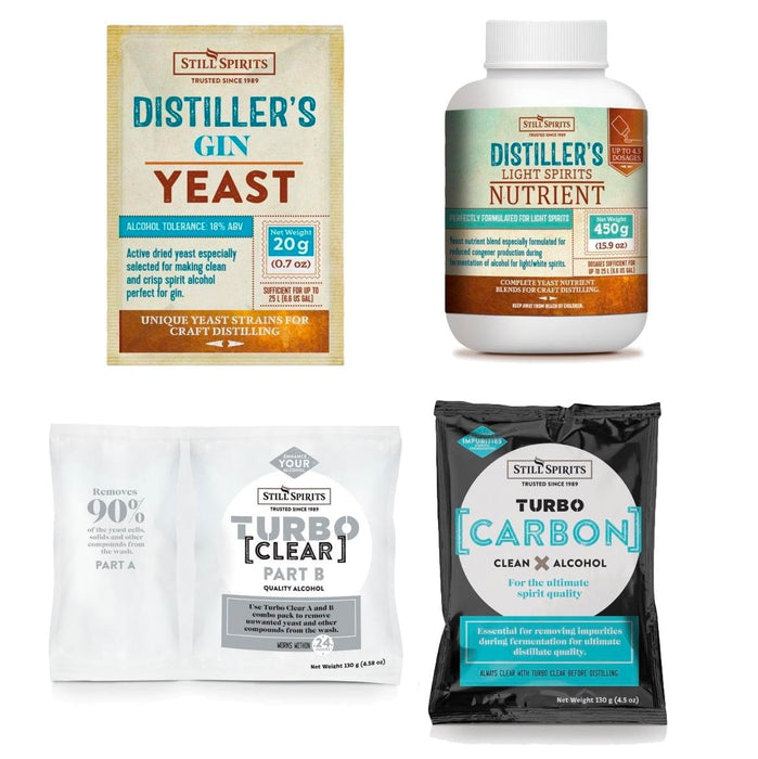 Gin Distiller's Yeast Pack