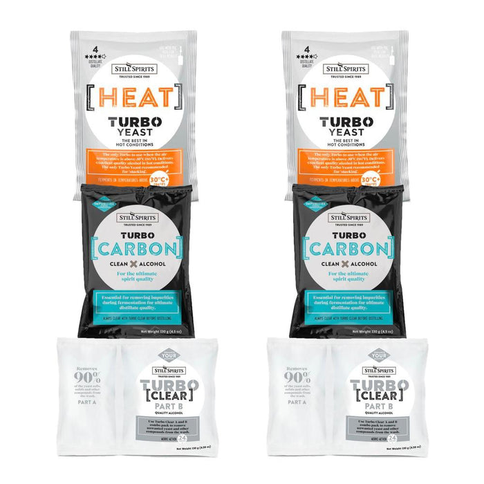 Still Spirits Heat Yeast, Carbon & Clear Double Pack