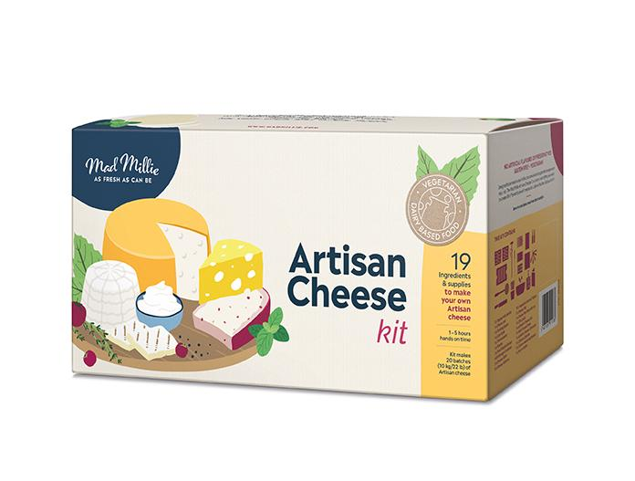Mad Millie Artisan Cheese Kit (shipping early November)