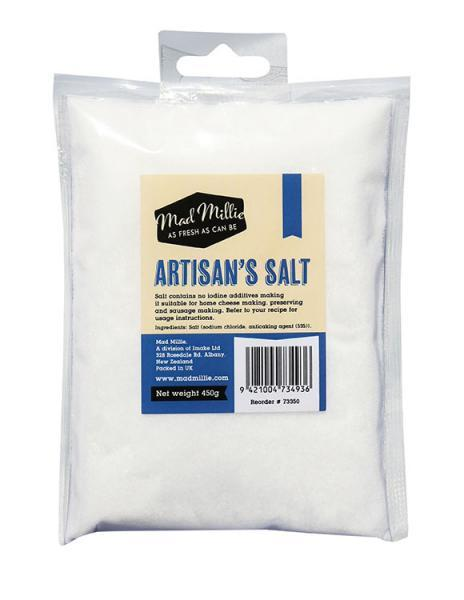Mad Millie Artisans Salt 450g (shipping late August)