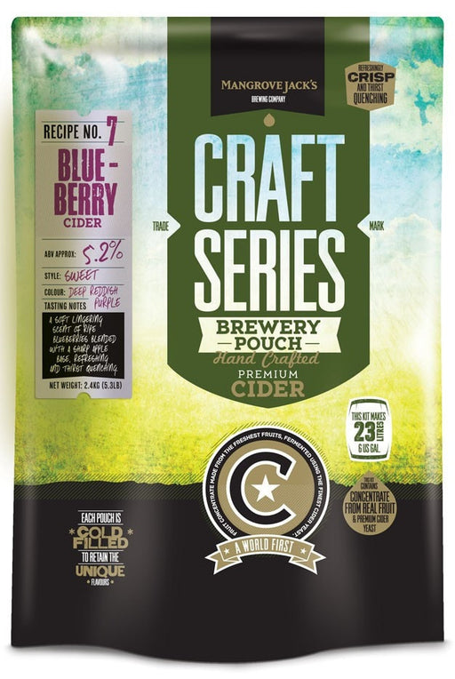 Mangrove Jack's Craft Series Blueberry Cider 23L