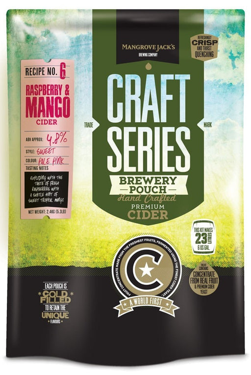 Mangrove Jack's Craft Series Raspberry and Mango Cider 23L