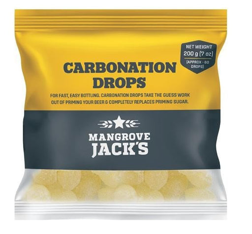 Mangrove Jack's Carbonation Drops 200gm (approx 60 drops)
