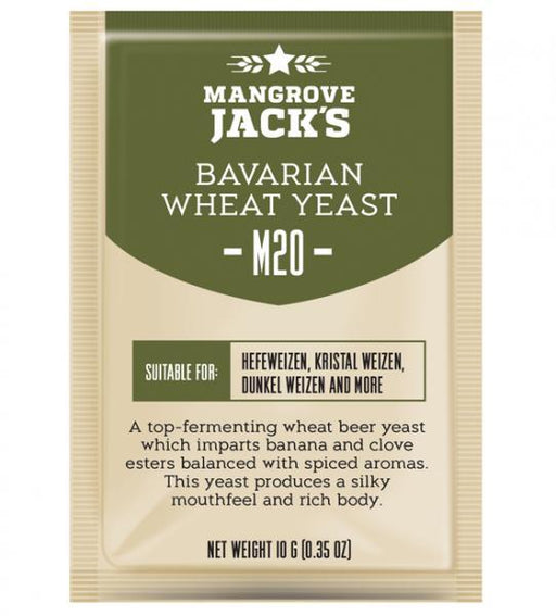 Mangrove Jack's Craft Series Yeast - Bavarian Wheat M20 (10g or 100g)