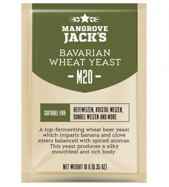 Mangrove Jack's Craft Series Yeast - Bavarian Wheat M20 (10g) (shipping early May)