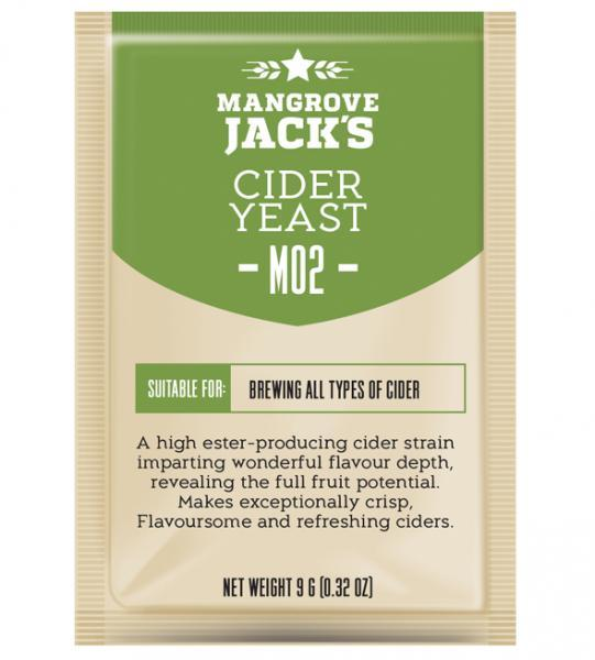 Mangrove Jack's Craft Series Yeast - Cider M02 (10g) (shipping late August)
