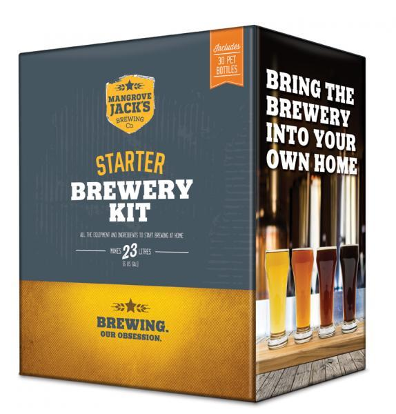 Mangrove Jacks Traditional Series Starter Brewery Kit with Bottles