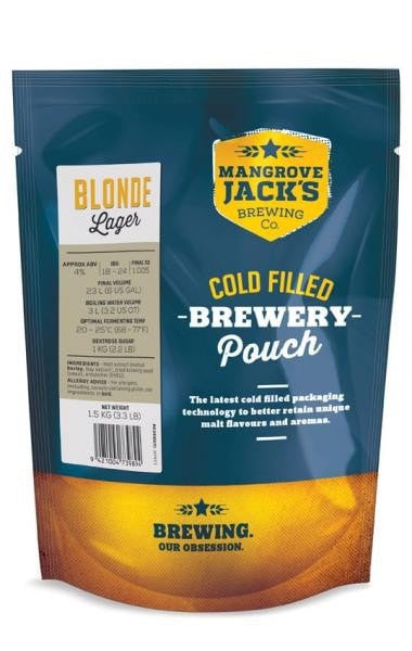 Mangrove Jack's Traditional Series Blonde Lager Pouch 1.5kg