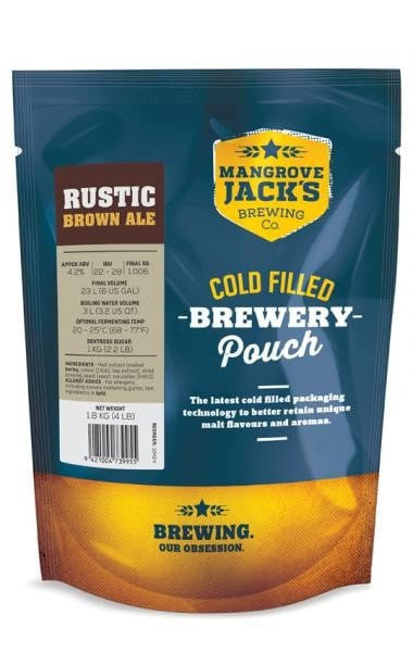 Mangrove Jack's Traditional Series Brown Ale Pouch 1.8kg (Rustic)