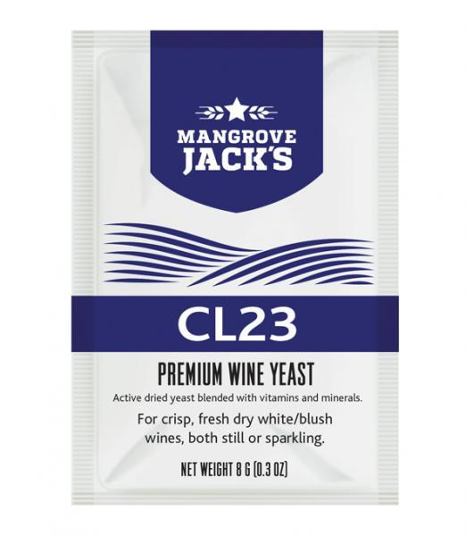 Mangrove Jack's Wine Yeast - CL23 8g (shipping late September)
