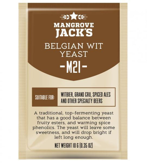 Mangrove Jack's Craft Series Yeast M21 Belgian Wit (10g)
