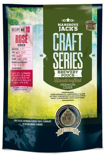 Mangrove Jacks Craft Series Rosé Cider 23L