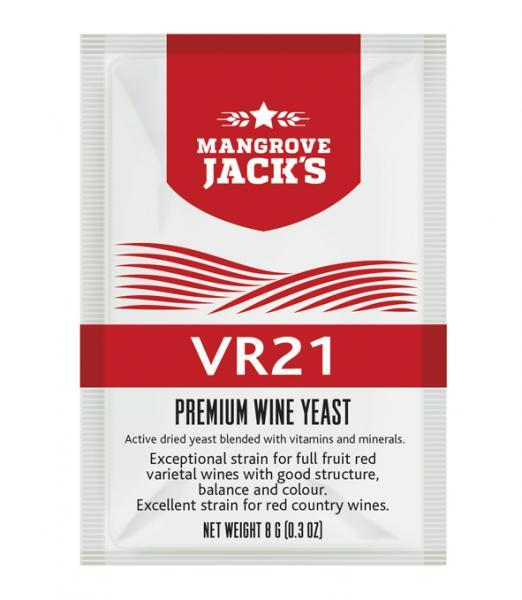 Mangroves Jack's Wine Yeast - VR21 8g (shipping late October)