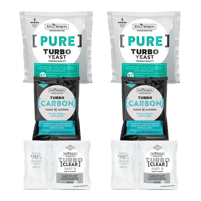Still Spirits Pure Yeast, Carbon & Clear Double Pack
