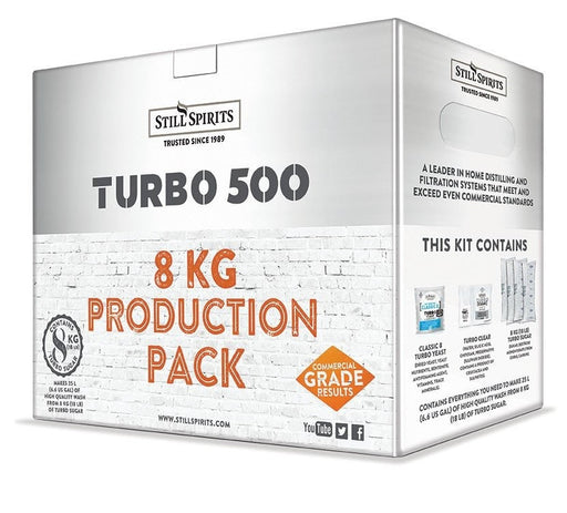 Still Spirits Classic 8 Yeast Turbo Production Pack 8kg