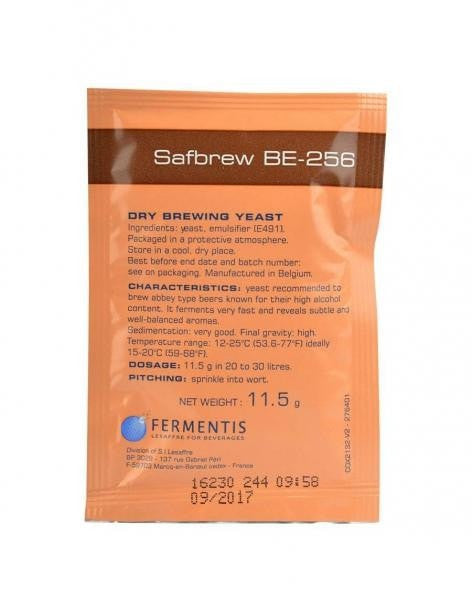 Safbrew BE-256 Yeast (11.5g)