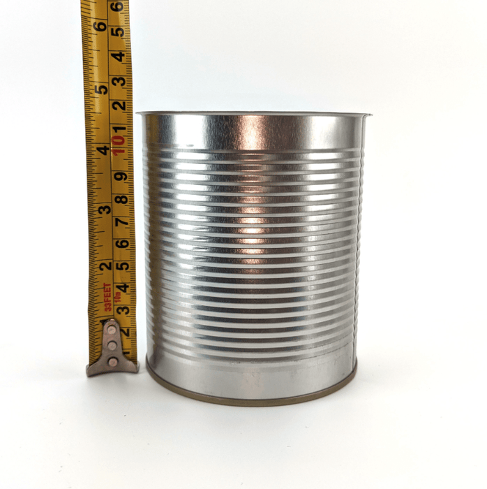 Box of 100x Steel Tin Coated Cans with Ring Pull / Ring Tab Easy Open - can be used with SEMI-AUTO Cannular