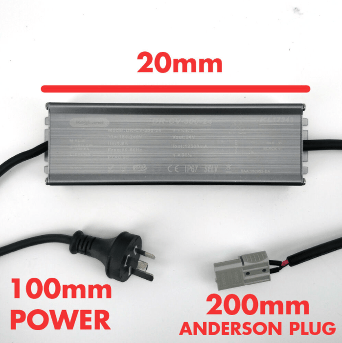 For SEMI-AUTO/MANUAL Cannular and Maltzilla - 24V DC Power Supply