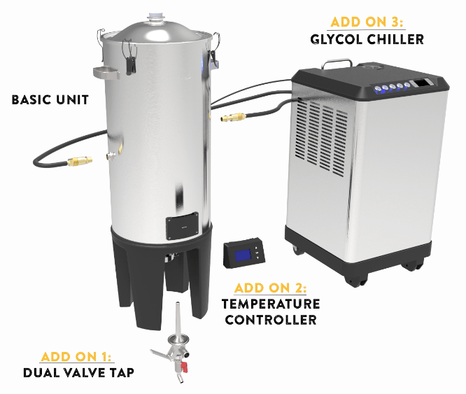 Grainfather Conical Fermenter Dual Valve Tap