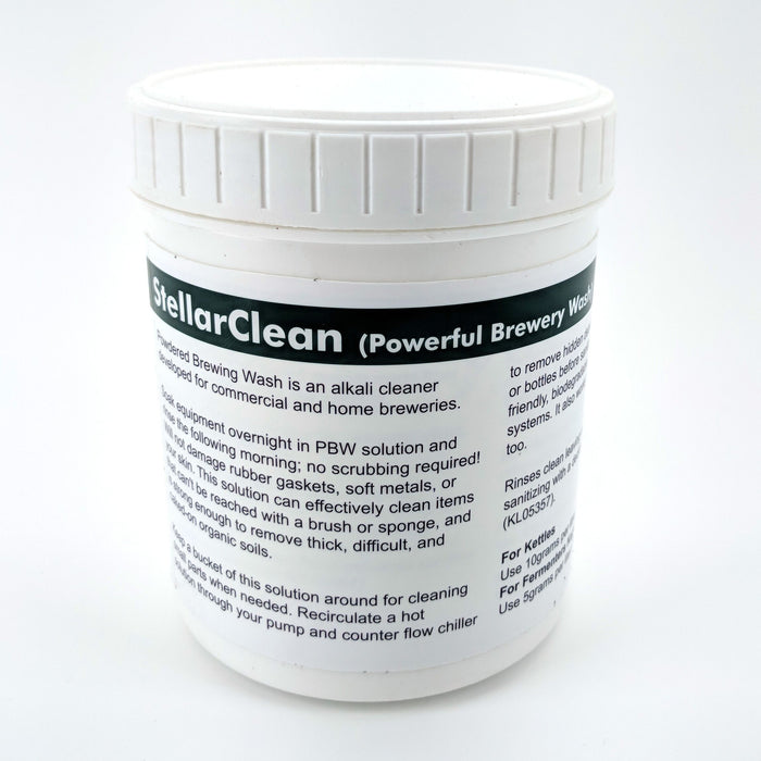 StellarClean PBW (Powerful Brewing Wash) 1KG - Brewery Cleaner, Beer Line Cleaner, Keg Wash