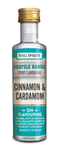Still Spirits Gin Profiles: Cinnamon and Cardamom (shipping early February)