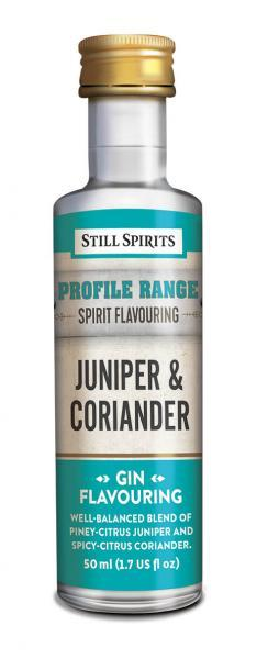 Still Spirits Gin Profiles: Juniper and Coriander (shipping early February)