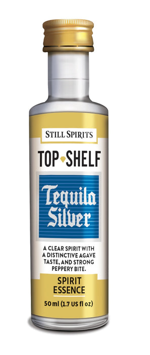 Top Shelf Silver Tequila
