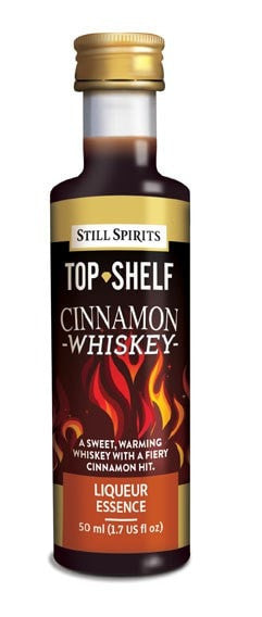 Top Shelf Cinnamon Whiskey