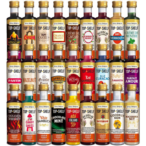 Still Spirits Top Shelf LIQUEUR & SCHNAPPS 24x Mix & Match Pack