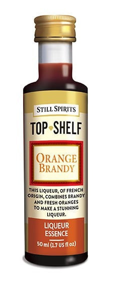 Top Shelf Orange Brandy Essence (available for pre-order, shipping date TBC)