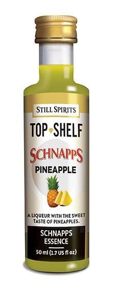 Top Shelf Pineapple Schnapps Essence (available for pre-order, shipping date TBC)