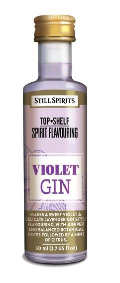Top Shelf Violet Gin (shipping TBA)