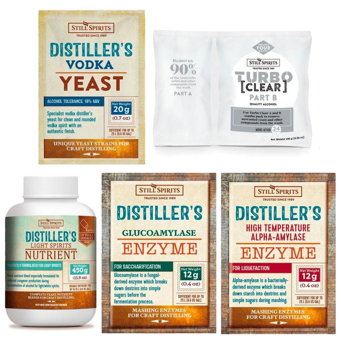 Vodka Distiller's Yeast Pack