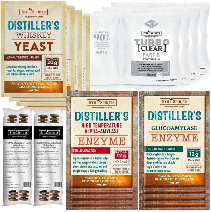 Still Spirits Whiskey Distiller's Yeast Pack x4 (shipping late May)