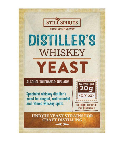 Whiskey Distiller's Yeast (Available for Pre-Order)
