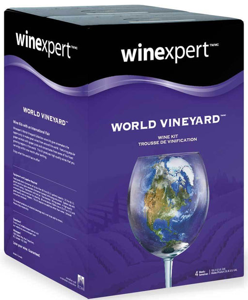 Wine Making Kit World Vineyard Australian Shiraz Makes 30 Bottles