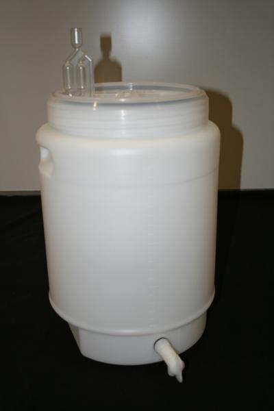 Carbouy Fermenter 30L - Ampi Style with Tap and Airlock (shipping mid August)