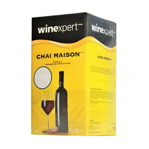 Wine Making Kit Chai Maison Merlot Makes 30 Bottles