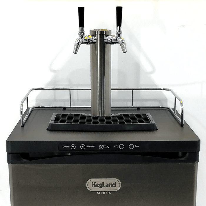 NEW: Kegmaster Series X Kegerator Double Tap 2x Taps
