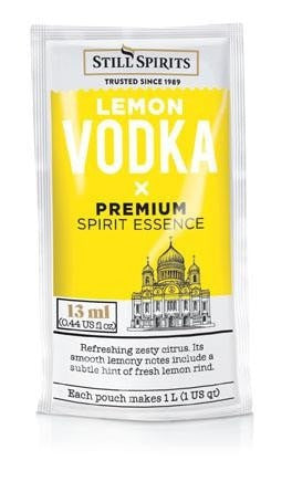 Premium Classic Lemon Vodka (makes 1L)