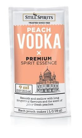 Premium Classic Peach Vodka (makes 1L)