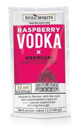 Still Spirits Classic Raspberry Vodka Essence (makes 1L) (shipping early October)