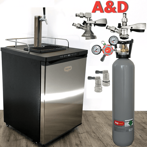 NEW: Kegmaster Series X Kegerator Single Tap 1x Tap PREMIUM BUNDLE for 50L Commercial Keg