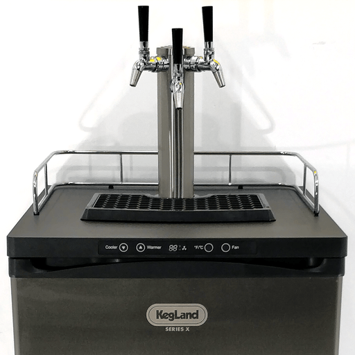 NEW: Kegmaster Series X Kegerator Triple Tap 3x Taps