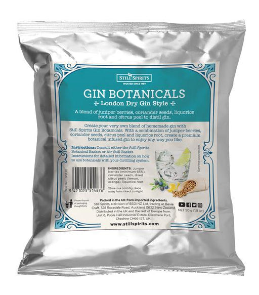 Still Spirits Gin Botanical Kit - London Dry Gin