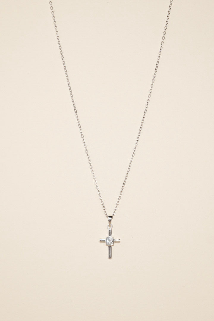 MOSES Cross with Cubic Zirconia
