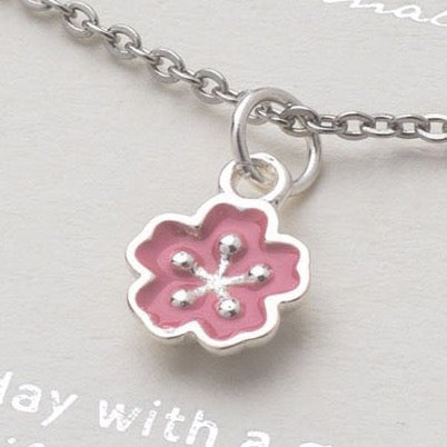 sakura,sakura flower,sakura flower necklace,sakura flower pendant,silver sakura necklace,silver sakura pendant,sterling silver necklace,sterling silver sakura necklace,sterling silver sakura pendant,blossom necklace,floral necklace,flower necklace,silver flower necklace,mothers day gift,gift for girl,nature,Hanami sakura pendant,Hanami sakura necklace,cherry blossom flower necklace, Pink Cherry Blossom Wedding necklace,Flower Girl Gift, Bridesmaid Jewelry,bride necklace,pink flower necklace